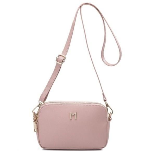 Melie Bianco Handbags - Emilia Blush Crossbody by Melie Bianco